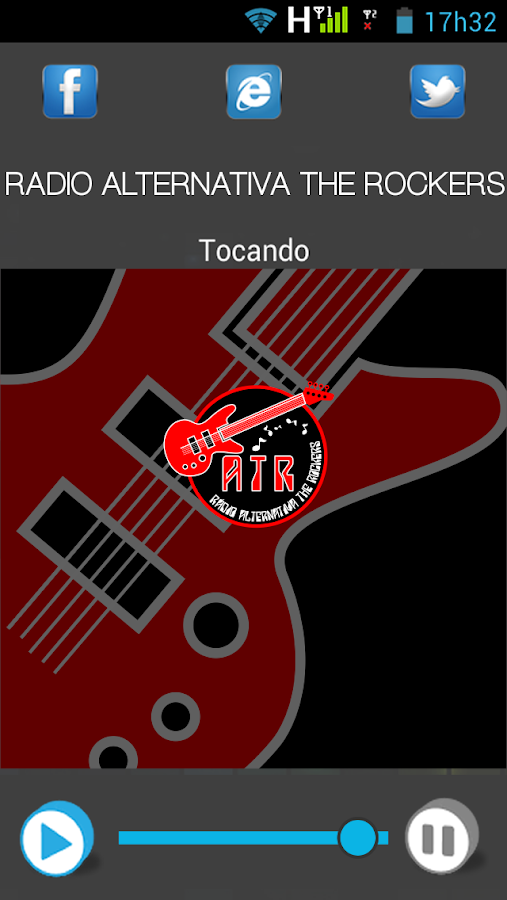 Rádio Alternativa The Rockers- screenshot