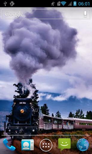 Smoking train Live WP