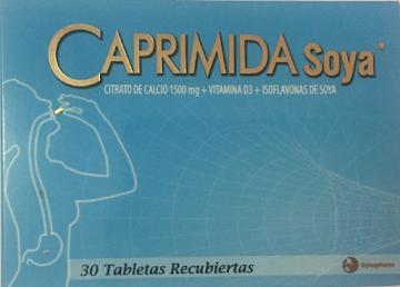 Caprimida Soya, Citrato   de Calcio Tabletas 315 Mg Cajax30