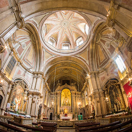 Santo Antonio Church in Lisbon. by Simon Page - Buildings & Architecture Places of Worship