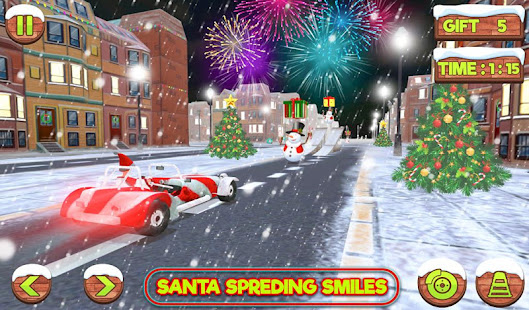Santa Claus Stunt Car Christmas Gift Delivery for PC-Windows 7,8,10 and Mac apk screenshot 2