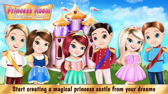 Princess Room Decoration Games - náhled