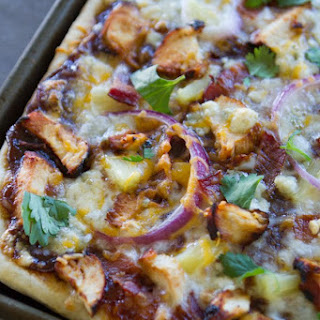 Ultimate BBQ Chicken Pizza.