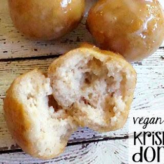 Vegan & Gluten-Free Krispie Kreme Donut Holes Copycat