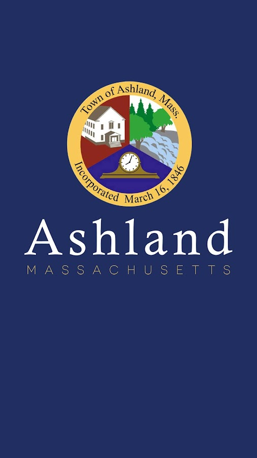 Town of Ashland Massachusetts- screenshot