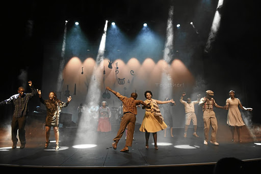 Dynamic drama: The Gibson Kente Music Tribute, which is on at The Market Theatre, pays homage to the theatre stalwart, who used the stage to fight the injustices of apartheid. Supplied