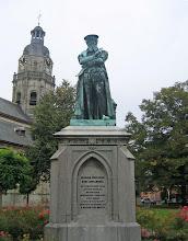 Photo: Statue de Mercator, géoraphe (1512-19594)