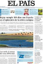 Photo: Rajoy cumple 100 días con España en el epicentro de la crisis europea; El régimen sirio proclama su victoria sobre la rebelión; Cataluña y Madrid se disputan el contrato del siglo en Las Vegas, entre los temas de nuestra portada de este domingo, 1 de abril http://srv00.epimg.net/pdf/elpais/1aPagina/2012/04/ep-20120401.pdf