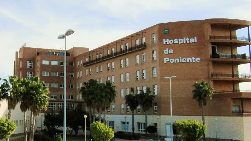Hospital de Poniente, en El Ejido.