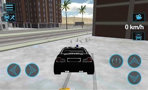 Police Car Drift 3D- screenshot thumbnail