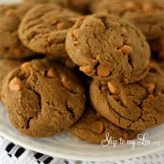 Gingerbread Butterscotch cookies