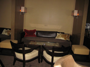 Photo: the Maduro Lounge - (prior to opening hours)