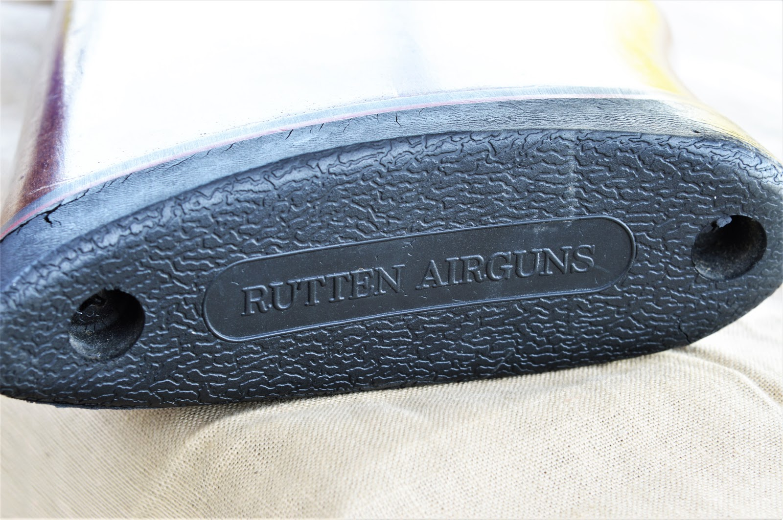 Rubber butt plate