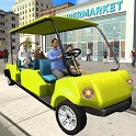 Shopping Mall Smart Taxi Driving Simulator icon