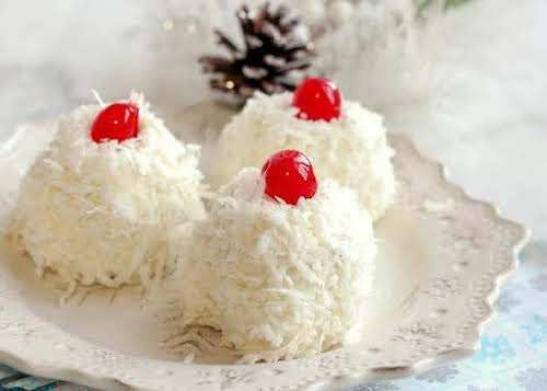"""Snowballs""""They're not what you think they are (hint: not a cupcake!). These..."""