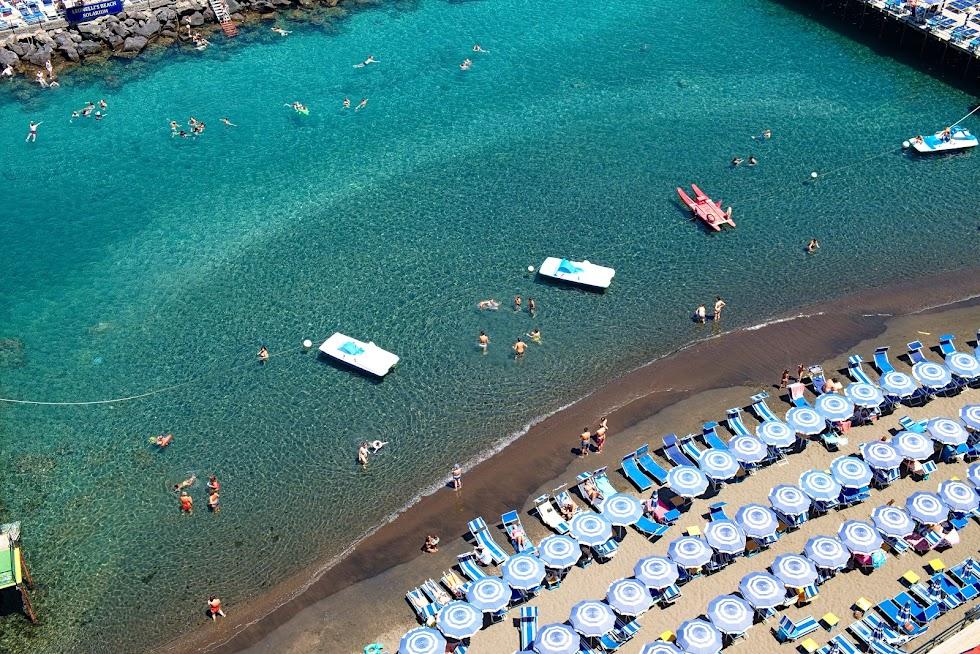 Plaża prywatna Sorrento