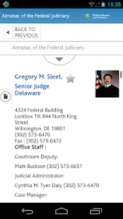 Almanac Of Federal Judiciary Android Apps On Google Play - Almanac of the federal judiciary