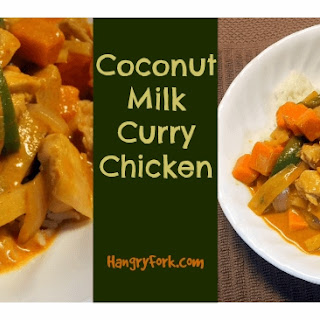 Easy Coconut Milk Chicken Curry with Sweet Potatoes.