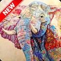 Cool Elephant Wallpaper icon