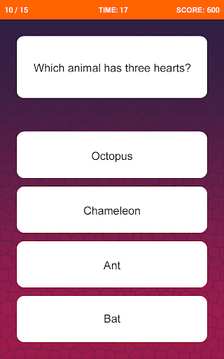 General Knowledge Quiz 2.8 screenshots 1