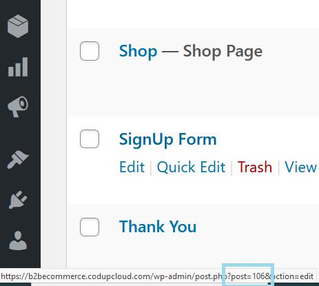 how to get wordpress post id