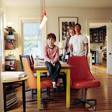 Photo: title: Aruna Goldstein, Jim + Theo Law, Haydenville, Massachusetts date: 2015 relationship: friends, art, met at Hampshire College years known: 20-25