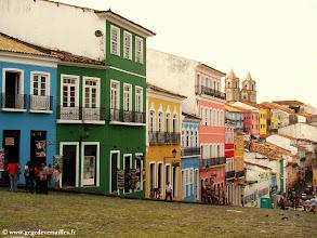 Photo: #024-Salvador de Bahia. Les maisons colorées du Pelourinho
