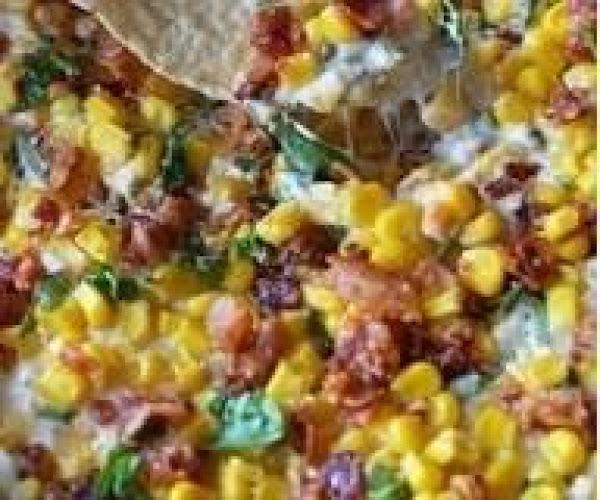 Cheesy Bacon Jalapeño Corn Dip Recipe