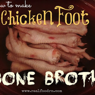 Chicken Feet Bone Broth.
