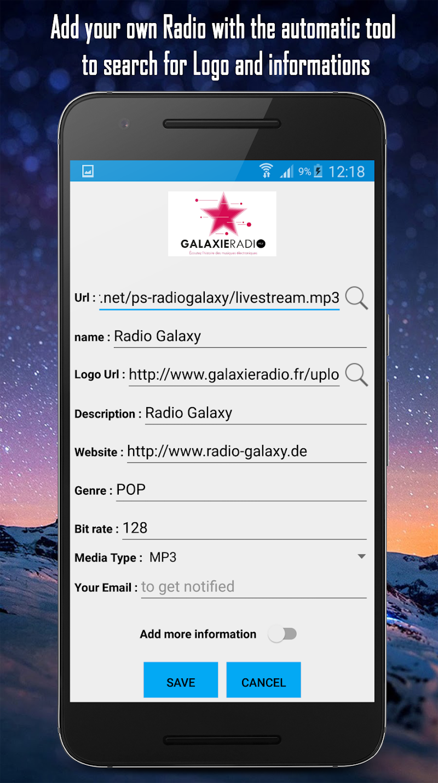 Cloud Radio Pro - Record , Lyrics & Music Screenshot 7
