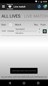 Passion for Real Madrid screenshot 1