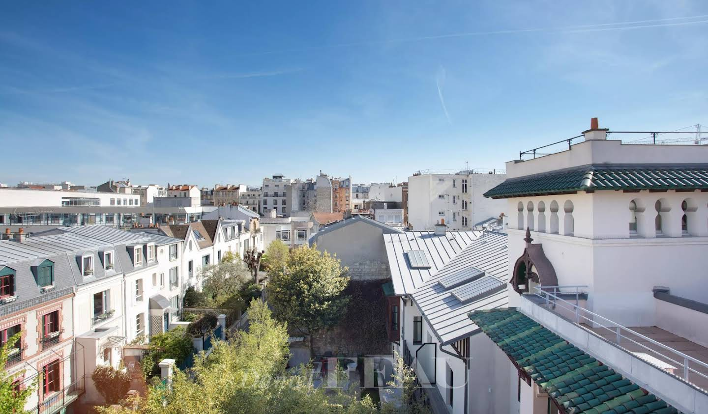 Hôtel particulier avec jardin Levallois-Perret