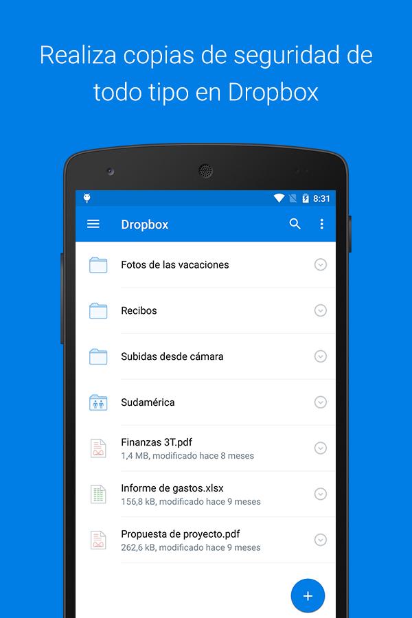 Dropbox - screenshot
