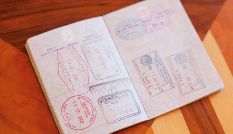 Make sure your passport is valid and has at least six months to run after you get back from the trip.