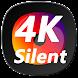 無音ビデオカメラ2  長時間4K録画も対応(4k画質による長時間分割録画と超望遠対応バージョン) Android