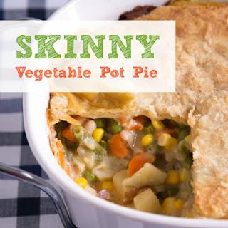 Skinny Vegetable Pot Pie