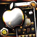 Golden Silver Metallic Launcher Theme 🍏 icon