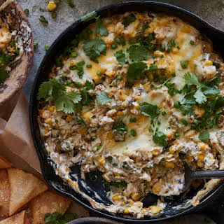 Poblano Corn Cheese Dip.