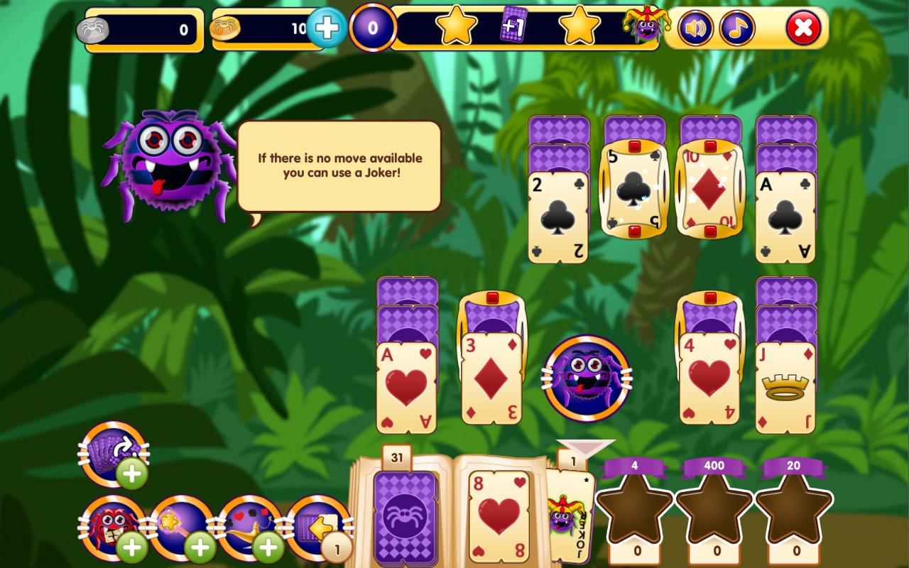 Spider Solitaire Online- screenshot