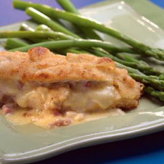 Ham-&-Cheese-Stuffed Chicken Breasts.