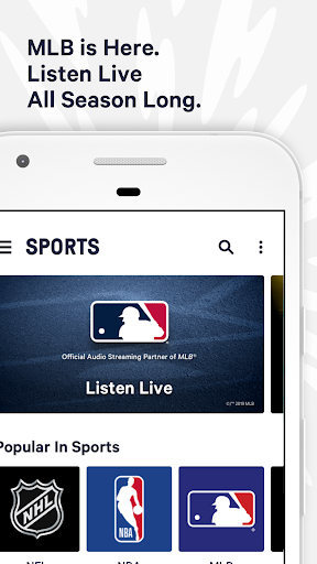 PC u7528 TuneIn: MLB Radio, Music, Sports & Podcasts 1