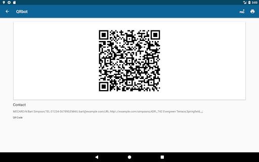 QRbot: QR code reader and barcode reader  screenshots 12