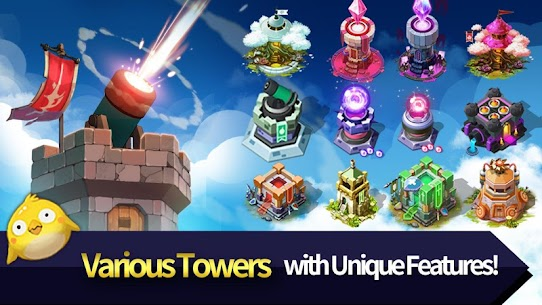Hero Defense King MOD (Unlimited Gems) 1