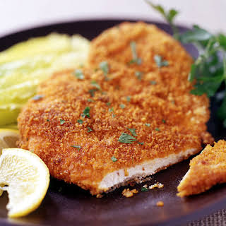 Oven-Fried Paprika Chicken Cutlets.