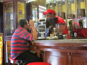 Photo: ya en alejandría, café brasilero