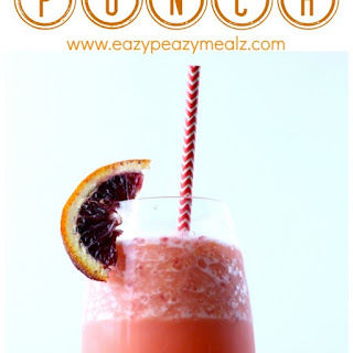 Blood Orange Punch Recipe