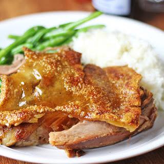 Crispy Cracklin' Pork Picnic Shoulder (Slow Cooker & Oven)