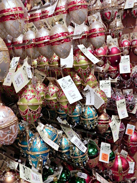 Photo: These ornate egg ornaments were on sale! Only $5.98!