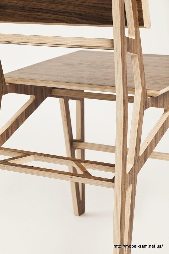а перемычки стула - из одинарной фанеры