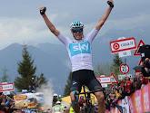 Giro: Froome garde son maillot rose à la veille de l'arrivée, Nieve remporte l'étape